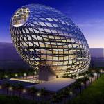 ოფისის უჩვეულო ვიზუალი მუმბაიში – კვერცხის ფორმის შენობა