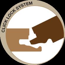 click-lock-system