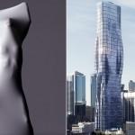 ცათამბჯენი Beyonce-ს სხეულის ფორმით