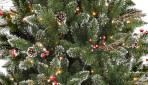 როგორ მივანიჭოთ დათოვლილის ეფექტი მწვანე ნაძვის ხეს