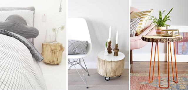 decorar-troncos-madera