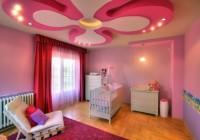 საბავშვო ოთახის ჭერის ნიმუშები, შესრულებული თაბაშირ-მუყაოში