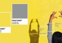 2021 წლის ფერი Pantone-ს მიხედვით, ნაცრისფერი და ყვითელი იქნება
