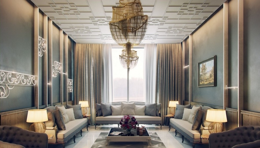 terrific-classic-traditional-living-room-interior-decorating-with-huge-golden-chandelier-plus-french-furniture-design-ideas-as-well-as-contemporary-desk-lamps