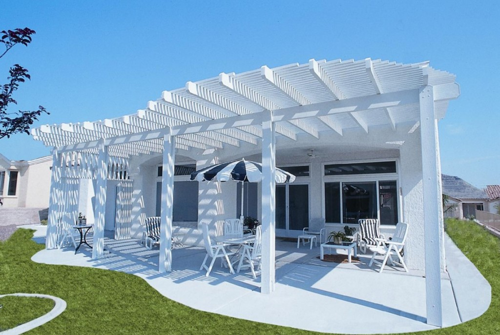 pool-and-garden-elegant-white-pergola-metal-with-column-and-roof-top-has-white-seating-design-picturesque-modern-pergola-metal-design-inspirations-1138x763