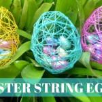 სააღდგომო დეკორაციები მარტივად: როგორ გავაკეთოთ ფერადი კვერცხები ძაფისგან